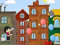 لعبة البالونات