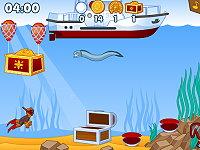 لعبة تحت المحيط
