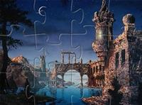 لعبة بازل القلعة القديمة