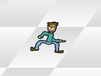 لعبة سرعة وضرب المارة الخطيرة