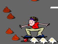 لعبة التزلج بالسكيت