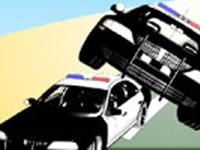 لعبة سيارات الشرطة المجنونة