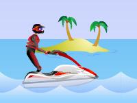 لعبة دراجات البحر