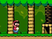 لعبة مغامرات سوبر ماريو فى الغابة