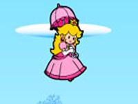لعبة ماريو والاميرة الطائرة