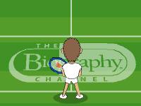 لعبة التنس الارضي