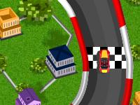 لعبة سباق السيارات الصغيرة