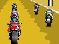 لعبة سباق دراجات نارية سريعة