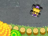 لعبة كراش والسيارات