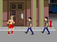 لعبة كلاسيكية وملاكمة الشوارع