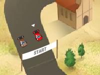 لعبة سيارات سباق السيارات الصغيرة