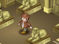 لعبة مغامرات قبر فرعون الخطيرة