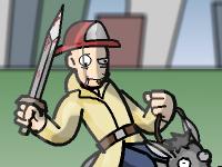 لعبة اكشن استيفن المجنون الخطير