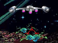 لعبة قتال حرب المخلوقات الفضائية القوية