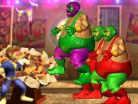 لعبة قتال مطعم التاكو الخطيرة