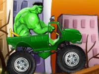 لعبة سيارات شاحنة الرجل الاخضر الرائعة
