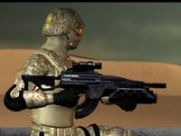 لعبة اكشن وقتال في الصحراء القوية