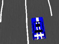 لعبة سيارات قوة المجاذفة الخطيرة