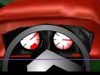 لعبة سيارات القيادة السريعة واصطدام الأرانب المنتشرة