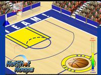 لعبة رياضة وضربات كرة السلة