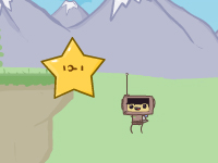 لعبة الفتي الطائر وجمع النجوم