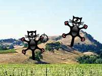 العاب مغامرات لعبة مغامرات صيد القطط الطائرة