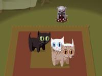 لعبة الكلب الآلي ومنع القطط من الخروج عن السجاد