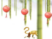 العاب لعبة باكوقان والقرد في الغابة