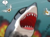 العاب لعبة قتال والقرش المفترس الخطير