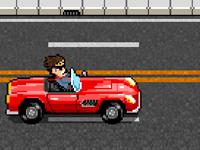 العاب لعبة سيارات وقيادة سيارة الشاب المجنون والتسبب بالحوادث المميتة