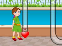 لعبة توصيل اهداء الفراشة الجميلة لعلاقة الصداقة