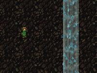 لعبة كهوف الشلال العميقة وفتح بوابات الإضاء