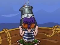 لعبة مدفع القراصنة المدمر وإطلاق المواد الفرصانية