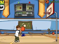 لعبة رياضية وبن تن وكرة السلة الرائعة
