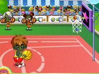 لعبة رياضية كرة السلة الخطيرة الجديدة