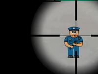 لعبة قناص المجرمين