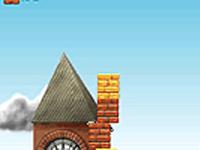 لعبة سرعة لعبة بناء ناطحات السحاب الطويلة في مدينة لندن