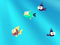 لعبة اطعام السمك الخطير