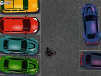 لعبة سيارات في المدينة الكبيرة