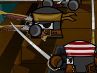 لعبة قتال والنينجا الخطيرة