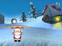 لعبة رمي الكرات الثلجية لتحطيم صناديق الهدايا الجميلة