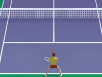 لعبة بطولة التنس المفتوحة