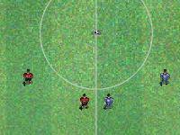 لعبة رياضية وكرة القدم الخطيرة الرائعة