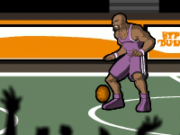 لعبة رياضية وكرة السلة والتحدي الرهيب