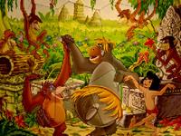لعبة بازل طرزان والغابة الجميلة