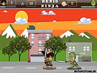 لعبة بن تن والنينجا المحارب