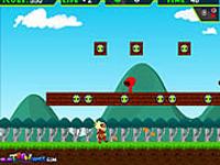لعبة مغامرة بن تن في عالم ماريو