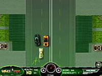 لعبة بن تن وسباق السيارات