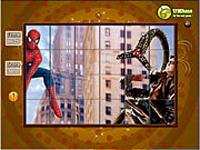 لعبة تركيب صورة سبايدرمان والرجل الخطير