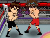 لعبة ملاكمة باكوقان ضد بن تن